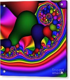Bulb Spiral 197 Acrylic Print by Rolf Bertram