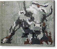 Bull Market G Acrylic Print by John Henne