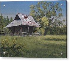 Bulldog Country Acrylic Print by Peter Muzyka
