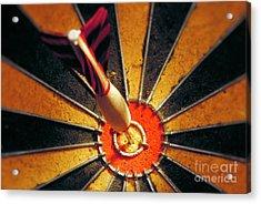Bulls Eye Acrylic Print by John Greim