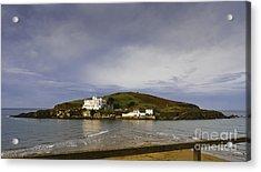 Burgh Island Devon Acrylic Print by Donald Davis