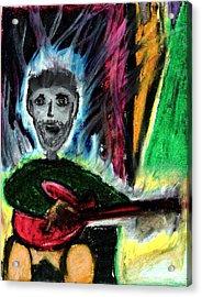 Burning Desire Acrylic Print by Levi Glassrock