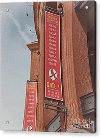 Busch Stadium - Cardinals Baseball Acrylic Print by Luther Fine Art