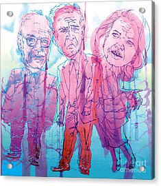 Bush Administration 2008 Acrylic Print by Danielle Criswell