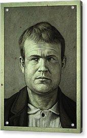Butch Cassidy Acrylic Print by James W Johnson