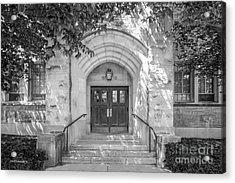 Butler University Doorway Acrylic Print by University Icons