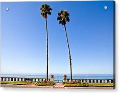 Butterfly Beach, Santa Barbara, California Acrylic Print by Geri Lavrov