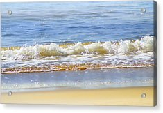 By The Coral Sea Acrylic Print by Holly Kempe