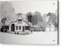 C And P's House  Acrylic Print by Michelle Welles