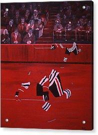 C B  Acrylic Print by Ken Yackel