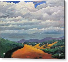 Ca Cloudscape Acrylic Print by Gary Coleman