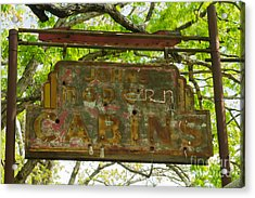Cabins No More Acrylic Print by Scott Nelson
