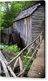 Cable Mill 3 Acrylic Print by Marty Koch