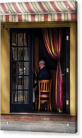 Cafe - Brunch Acrylic Print by Mike Savad