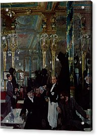 Cafe Royal, London, 1912 Acrylic Print by Sir William Orpen