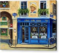 Cafe Van Gogh II Acrylic Print by Marilyn Dunlap
