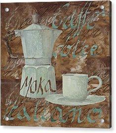 Caffe Espresso Acrylic Print by Guido Borelli
