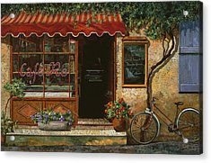 caffe Re Acrylic Print by Guido Borelli
