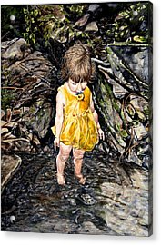 Caice At Otter Creek Acrylic Print by Thomas Akers