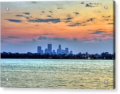 Calhoun Sunrise Acrylic Print by Michael Klement