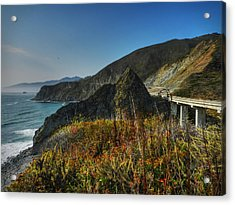 California - Big Sur 011 Acrylic Print by Lance Vaughn