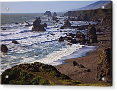 California Coast Sonoma Acrylic Print by Garry Gay