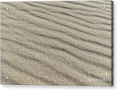 Calm Sands Acrylic Print by Angelo DeVal