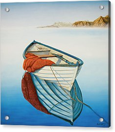 Calm Waters Acrylic Print by Horacio Cardozo