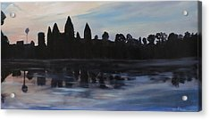 Cambodia Temples Acrylic Print by Betty Pimm