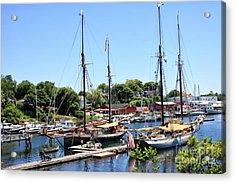 Camden Harbor #2 Acrylic Print by Marcia Lee Jones