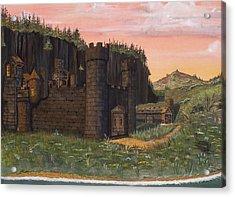 Camlochlin Castle Acrylic Print by James Lyman