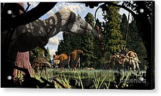 Campanian Montana Landscape Acrylic Print by Julius Csotonyi