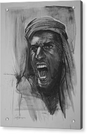 Can Anyone Speak Pashto Acrylic Print by Paul Autodore