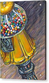 Can I Have A Penny Please Acrylic Print by Jami Childers