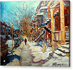 Canadian Art And Canadian Artists Acrylic Print by Carole Spandau