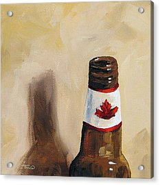 Canadian Beer Acrylic Print by Torrie Smiley