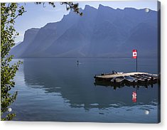 Canadian Serenity Acrylic Print by Angela A Stanton