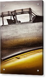 Canary Acrylic Print by Pair of Spades