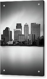 Canary Wharf II, London Acrylic Print by Ivo Kerssemakers
