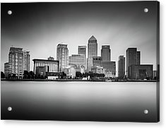 Canary Wharf, London Acrylic Print by Ivo Kerssemakers