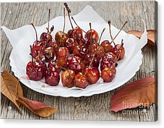 Candied Crab Apples Acrylic Print by Elena Elisseeva
