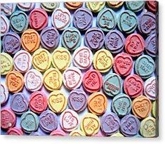 Candy Love Acrylic Print by Michael Tompsett