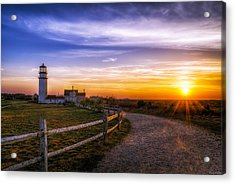 Cape Cod Light Acrylic Print by Mark Papke