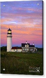 Cape Cod Light Truro Acrylic Print by John Greim