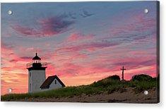 Cape Cod Long Point Light Acrylic Print by Bill Wakeley