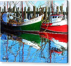 Cape Cod Paintings  Acrylic Print by Michael Cranford