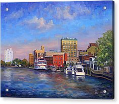 Cape Fear Afternoon Acrylic Print by Jeff Pittman