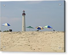 Cape May Lighthouse View Acrylic Print by Andrew Kazmierski
