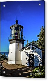 Cape Meares Lighthouse Acrylic Print by Jon Burch Photography