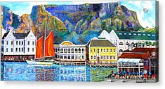 Cape Waterfront Acrylic Print by Michael Durst